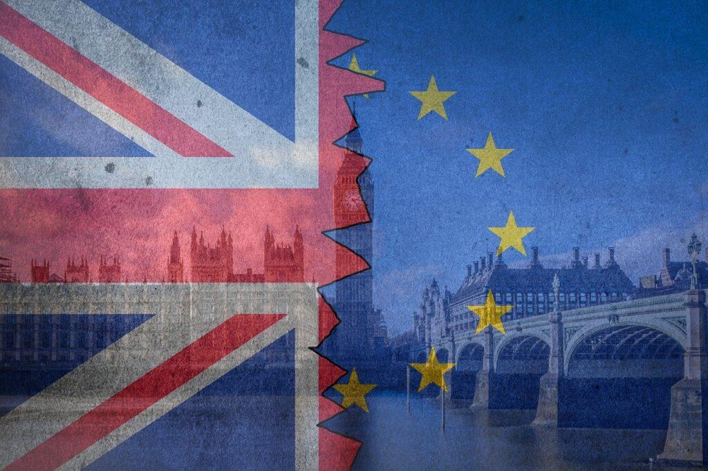 brexit, flag, europe